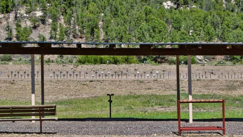 Hunters Pistol Silhouette Range at the NRA Whittington Center