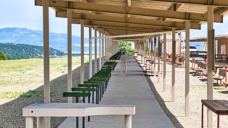 High Power Rifle Silhouette Range at the NRA Whittington Center