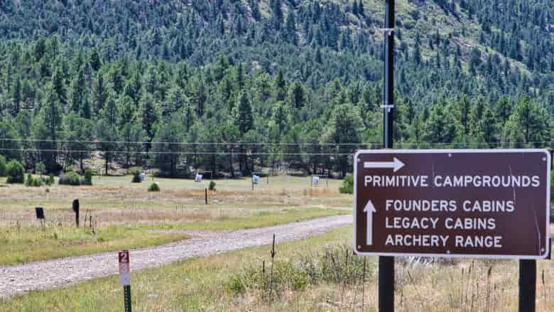 Archery Range at the NRA Whittington Center