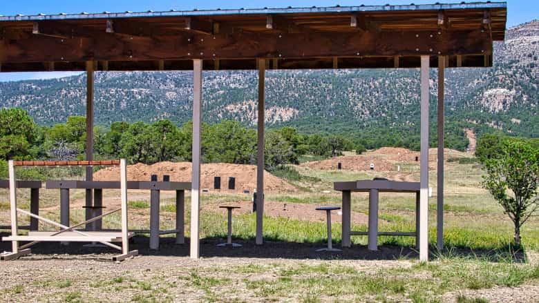 Cooper Rifle Walk Range at the NRA Whittington Center