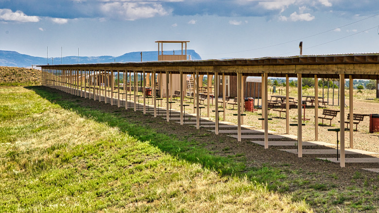 Long Range Pistol Silhouette Range at the NRA Whittington Center