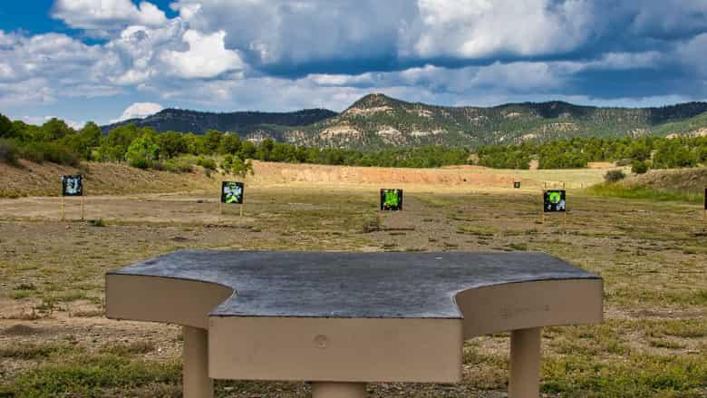 Sight-In Range at the NRA Whittington Center
