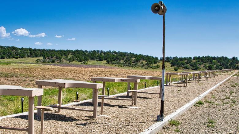 High Power Rifle 1000 Yard Range at the NRA Whittington Center