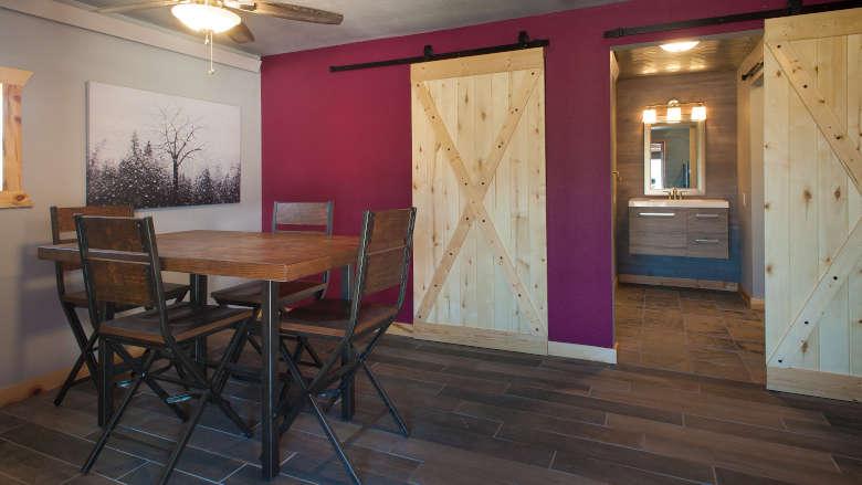 Legacy Cabin Cabin #12 Brownell Boys Cabin Interior 2