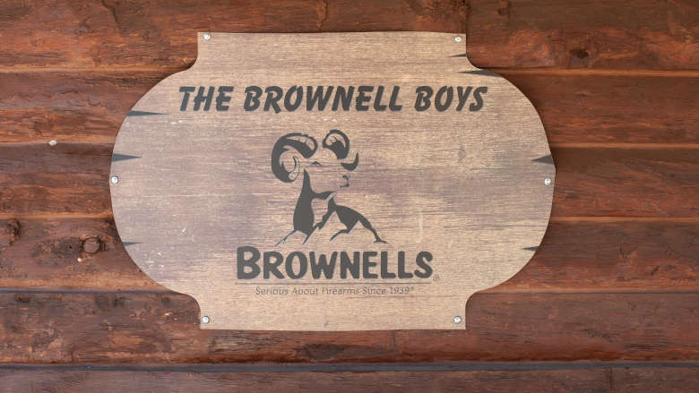 Legacy Cabin Cabin #12 Brownell Boys Cabin Name Sign