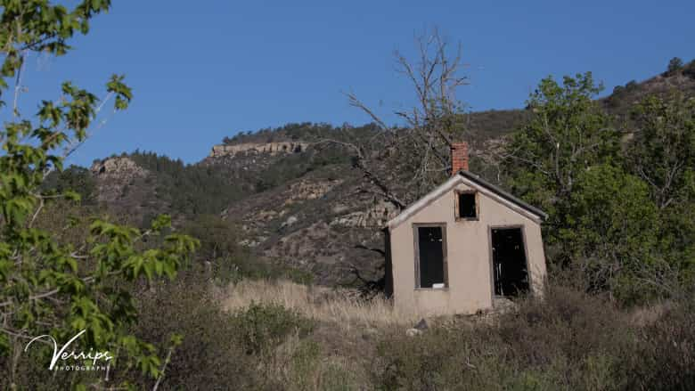 The Van Houten Ghost Town at NRA Whittington Center in New Mexico