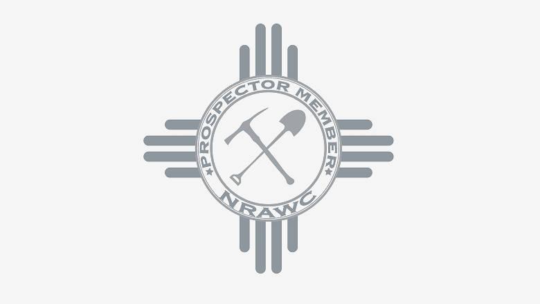 NRA Whittington Center Prospector Membership logo on grey