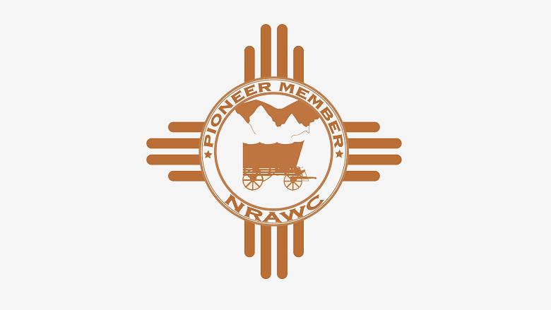 NRA Whittington Center Pioneer Membership logo on grey