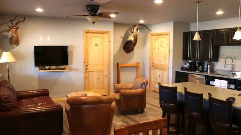 Carter Cabin Living Room