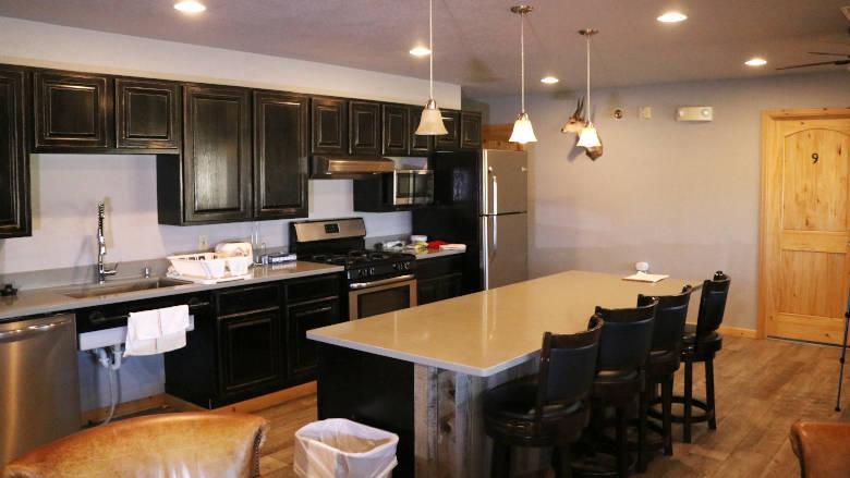 Carter Cabin Kitchen