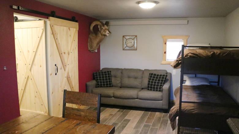 Legacy Cabin Cabin #12 Brownell Boys Cabin Interior