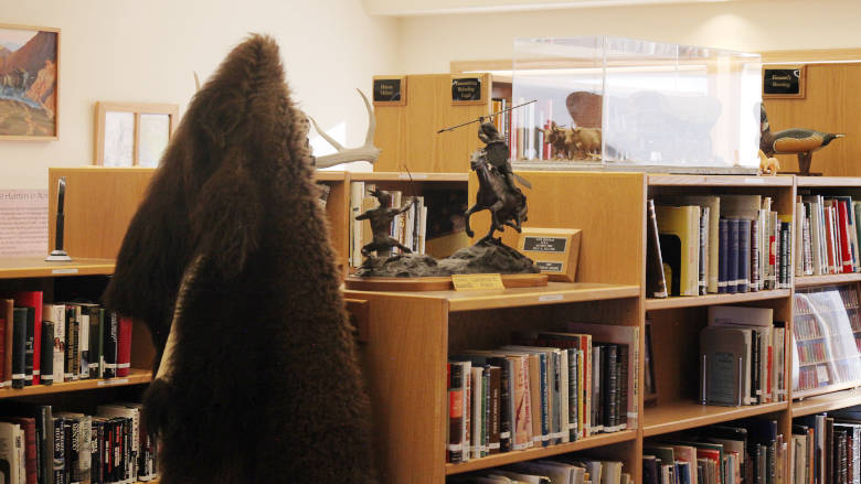 Bud and Willa Eyman Research Library