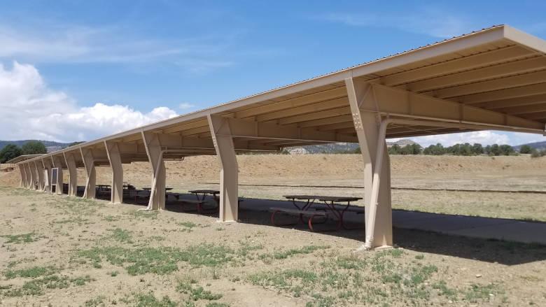 Small Bore Rifle Range at the NRA Whittington Center