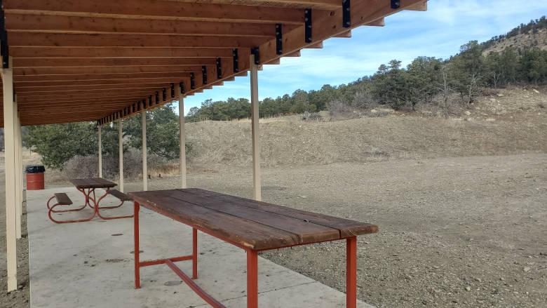 Practical Pistol Range at the NRA Whittington Center