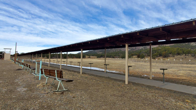 Small Bore Rifle Silhouette Range at the NRA Whittington Center