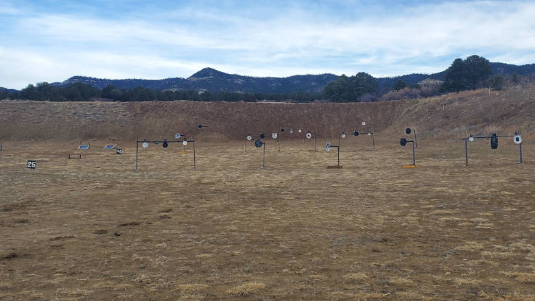 Handgun/Rifle Range at the NRA Whittington Center