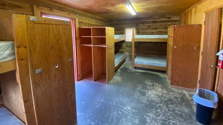 Log Cabin at the NRA Whittington Center