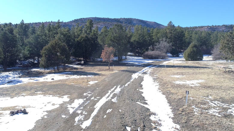 Primitive Campground at the NRA Whittington Center