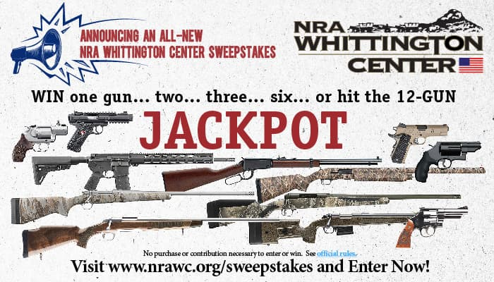 NRA Whittington Center Sweepstakes